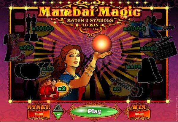 An image of Mumbai Magic Online Scratch Card Game