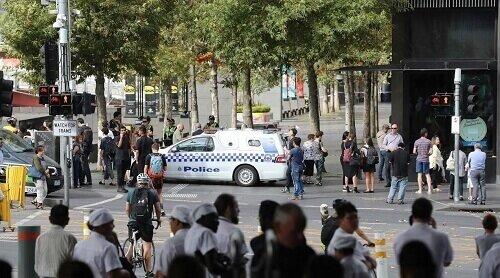 Bomb scare Australia