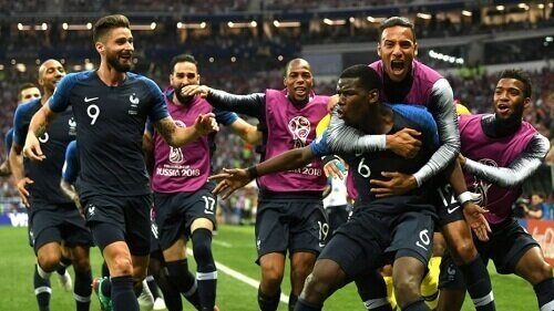 France Win The World Cup