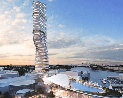 plans for a ritz-carlton hotel by the star